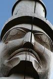 Statue en bois Image libre de droits