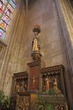 Statue en bois de Jésus Photographie stock