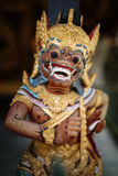 Statue en bois Gunung Kawi Sebatu Images libres de droits