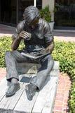 Statue en bronze à Hilton Head, S.C. Photos libres de droits
