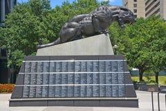 Statue en bronze Photos libres de droits