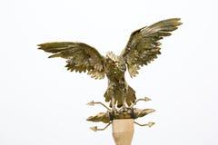 Statue en bronze d'aigle Images stock