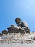 Statue en bronze de Bouddha Photos libres de droits