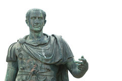 Statue en bronze de Julius Caesar photographie stock