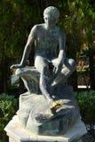 Statue en bronze de Mercury images libres de droits