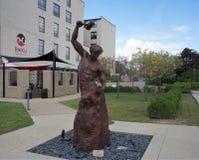 Statue en bronze de self-made-man, St Louis, Missouri photos libres de droits