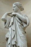 Statue en cloître de palais de Saint-Pierre (Lyon, France) Image libre de droits