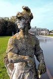 Statue en parc énorme de villa Pisani, Italie Images libres de droits