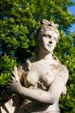 Statue en parc Image libre de droits