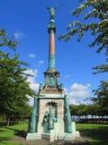 Statue en parc d'Amaliehaven, Copenhague, Danemark Photographie stock libre de droits