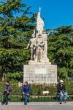 Statue en parc de Dongdan dans le secteur de DongCheng, Pékin, Chine Photographie stock