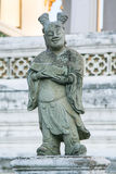 Statue en pierre à Bangkok, Thaïlande Photos libres de droits
