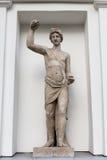 Statue en pierre d'Appolo Photographie stock libre de droits