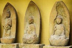 Statue en pierre de Bouddha Photo libre de droits