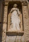 Statue from Ephesus, Turkey Royalty Free Stock Photography