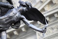 Statue of Eros in Piccadilly Circus Stock Photography