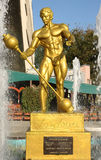 Statue of Eugen Sandow Royalty Free Stock Image