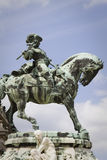 Statue of eugene of savoy. Budapest Royalty Free Stock Photos