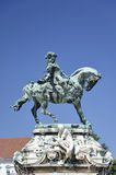 Statue of Eugene of Savoy, Budapest. 3 Royalty Free Stock Images