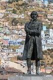 Statue of Eugenio de Santa Cruz Stock Image