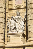 Statue of Europe, Natural History Museum in Vienna Stock Photos