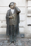 Statue of Evert Taube, Stockholm stock photography