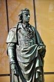 The statue of F. Schiller in Salzburg, Austria Stock Image