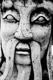 Statue face. BaNgkok Thailand royalty free stock images