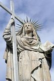 Statue of faith Royalty Free Stock Photography