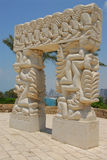 Statue of Faith. Tel Aviv Israel Royalty Free Stock Photo