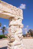 Statue of Faith at the Abrasha Park Stock Photos