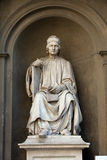 Statue of the famous architect Arnolfo di Cambio Stock Images