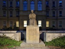 A statue of the famous Czech writer Bozena Nemcova Stock Photography