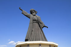 Statue of famous Mevlana Rumi Royalty Free Stock Photography