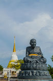 Statue of a famous monk Royalty Free Stock Images