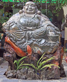 Statue of fat buddha in Hanoi Stock Photo