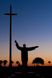 Statue of Father Francisco Lopez Royalty Free Stock Photos