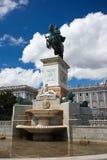 Statue of Felipe IV Stock Photography