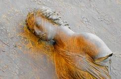 Statue of female, rome Stock Image