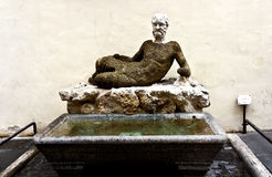 Statue in the Fontana Babuino  in Rome Stock Photo