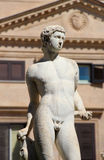 Statue from the fontana della vergogna, palermo Stock Image