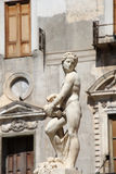 Statue from the fontana della vergogna, palermo Stock Photography