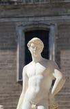 Statue from the fontana della vergogna, palermo. Detail of a statue of the fontana della vergogna, by francesco camilliani, pretoria square palermo, sicily Royalty Free Stock Photo