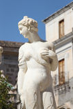 Statue from the fontana della vergogna, palermo. Detail of a statue of the fontana della vergogna, by francesco camilliani, pretoria square palermo, sicily Stock Photo