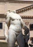 Statue from the fontana della vergogna, palermo. Detail of a statue of the fontana della vergogna, by francesco camilliani, pretoria square palermo, sicily Stock Photography