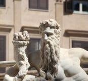 statue from the fontana della vergogna, palermo Royalty Free Stock Photo