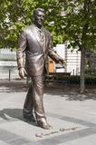 Statue of the former U.S. President Ronald Reagan Stock Photos