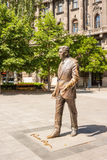 Statue of former USA president Ronald Reagan on Liberty Square i Royalty Free Stock Photography