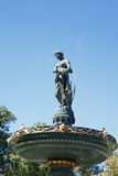 Statue on Fountain Under Blue Royalty Free Stock Images
