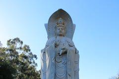 Buddha Statue, Budhist Temple - Foz do Iguaçu, Brazil royalty free stock photo